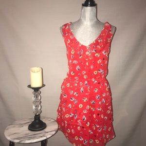Cocktail dress with Tiers